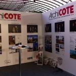 Salon Déco Meuble Design /// Jusqu'au 15 novembre au palais des expositions à Nice /// Stand consacré aux lauréats 2015 du Concours ArchiCOTE